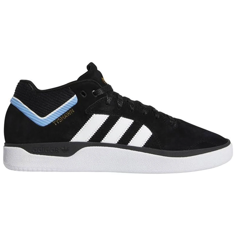 Adidas Tyshawn Pro - Black/White/Blue