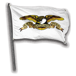 Antihero Eagle Banner - White