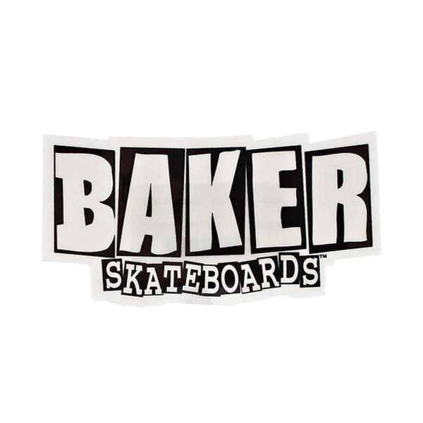 Baker Logo Sticker Large
