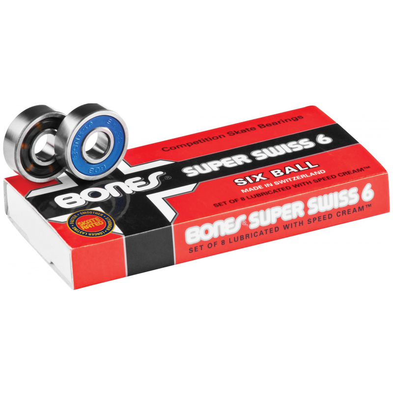 Bones Super Swiss 6-Ball Bearings