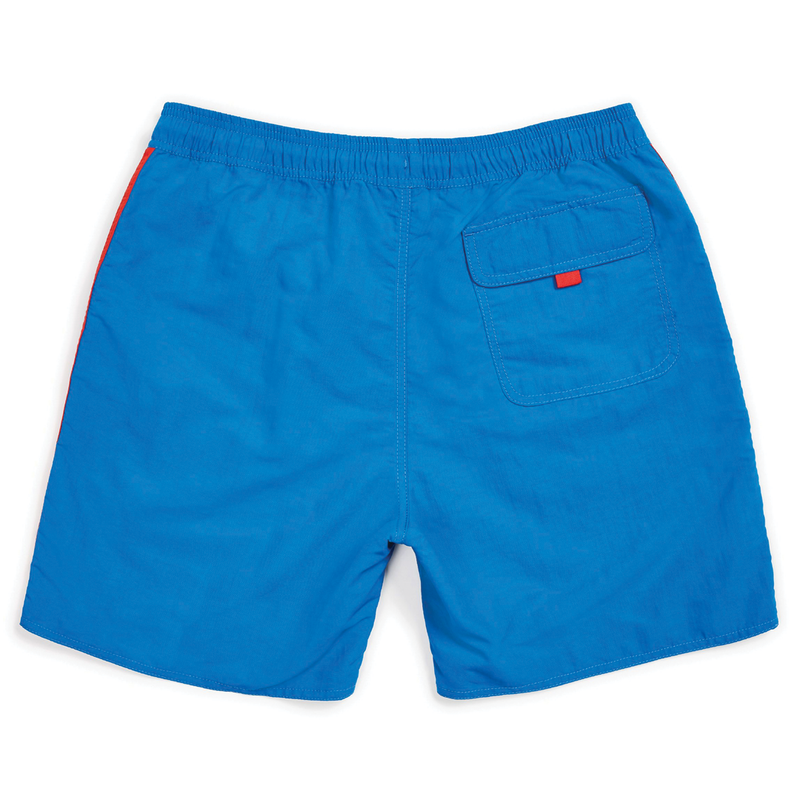 Brixton Santos Trunk - Blue/Red