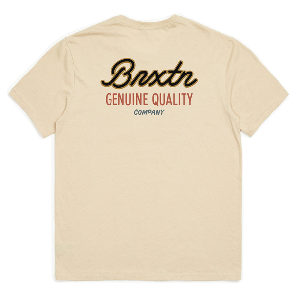 Brixton Sprint Pocket Tee - Vanilla