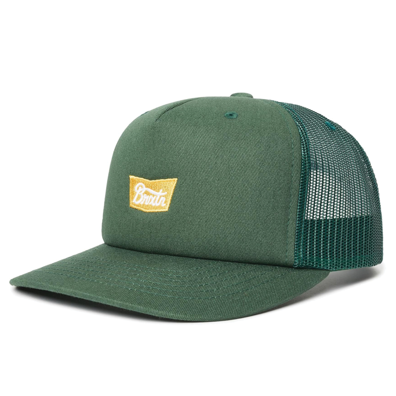 Brixton Stith MP Mesh Hat - Emerald
