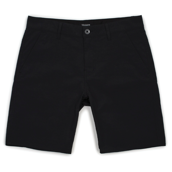 Brixton Toil II Hemmed Short - Black