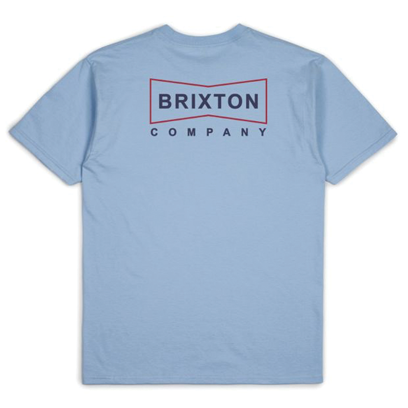 Brixton Wedge Tee - Blue