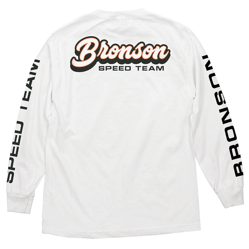 Bronson Speed L/S Tee - White