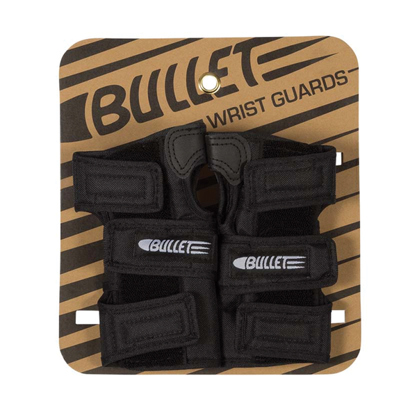 Bullet Wrist Guards - Black