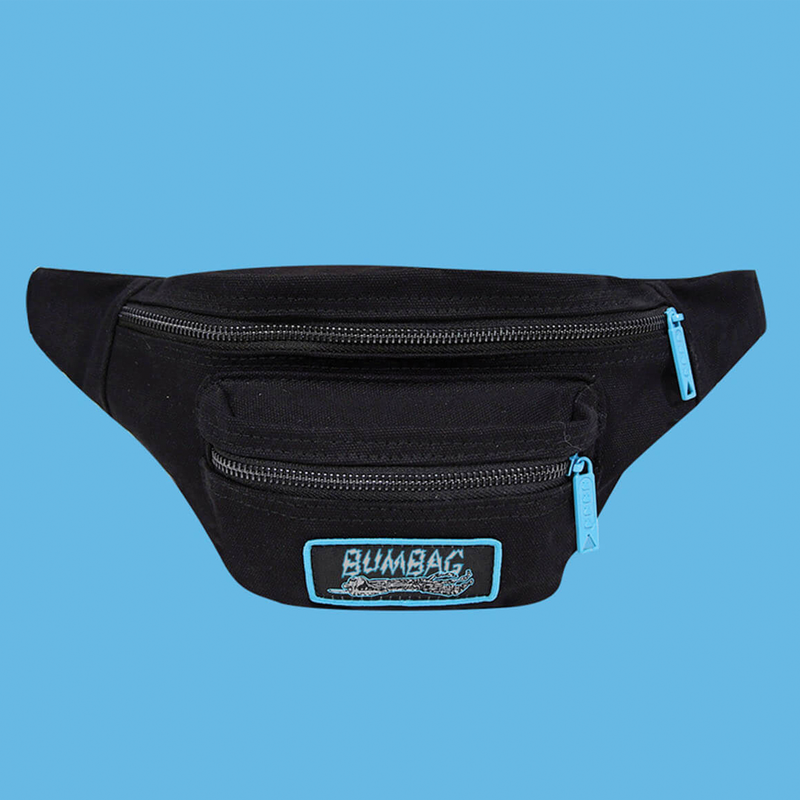 Bumbag Funeral French Hybrid Basic Hip Bag - Black