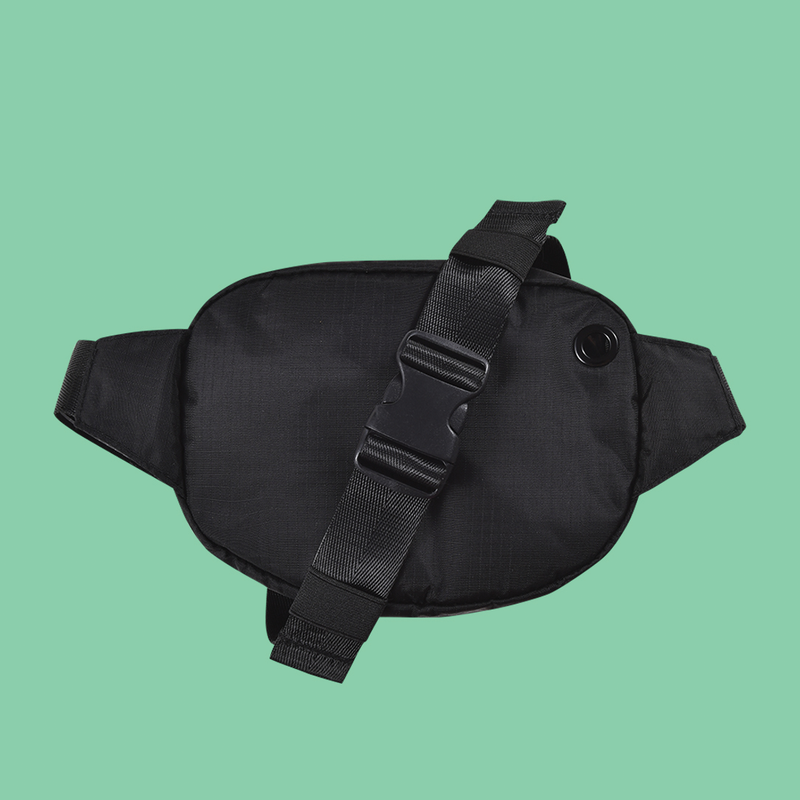 Bumbag Hi-Viz Mini Mega Hip Pack - Black