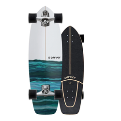 Carver C7 Raw Resin Surfskate Complete