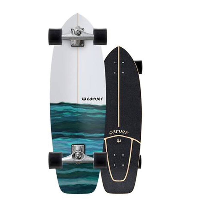 Carver CX Raw Resin Surfskate Complete