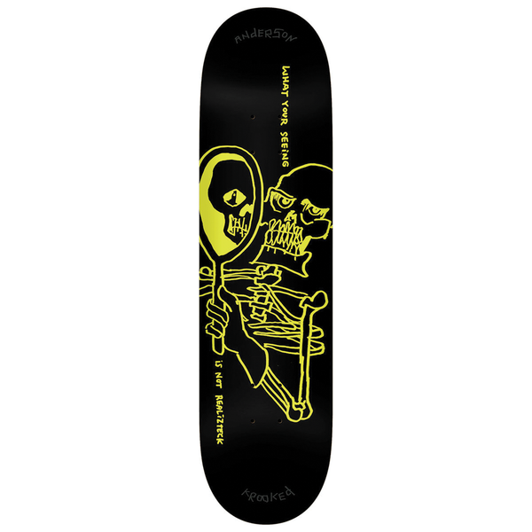 Krooked Anderson Realizteck Deck - 8.38""