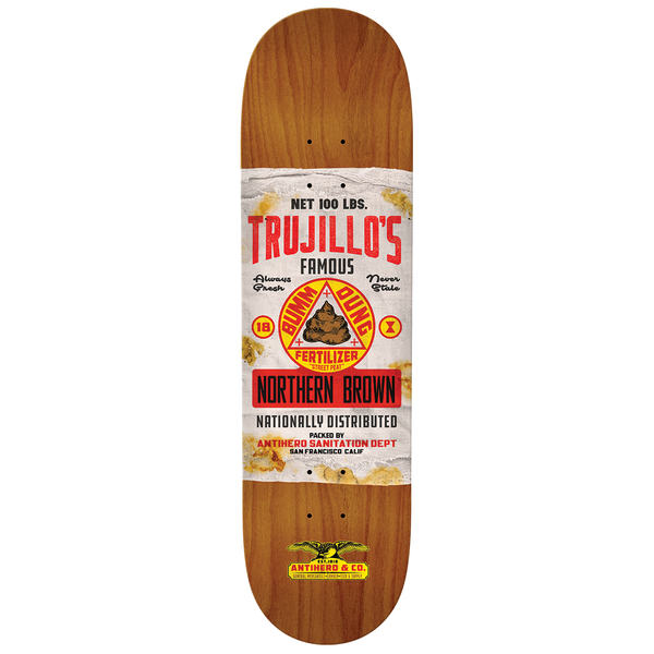 Antihero Trujillo General Mercantile II Deck - 8.5""