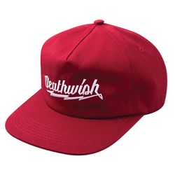 Deathwish Short Circuit Hat - Burgundy