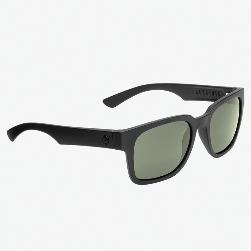 Electric Zombie Polarized - Matte Black/ Grey Lens