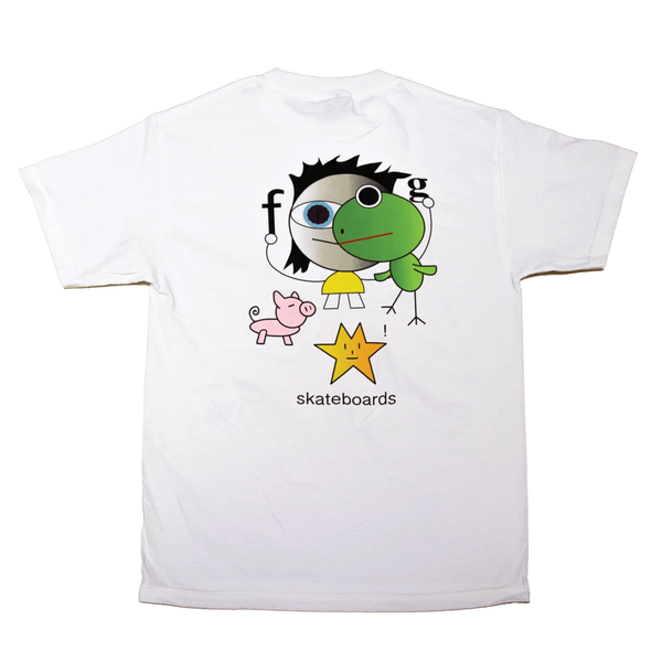 Frog Skateboards Frog Kid! T-Shirt - White