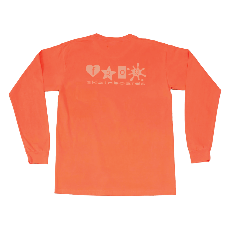 Frog Skateboards Popstar Pocket Longsleeve - Red