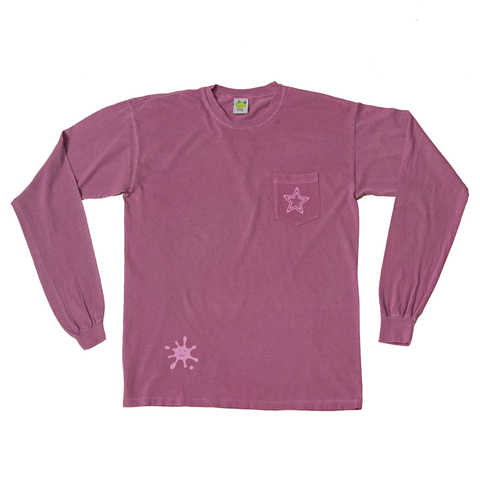 Frog Skateboards Popstar Pocket Longsleeve - Purple