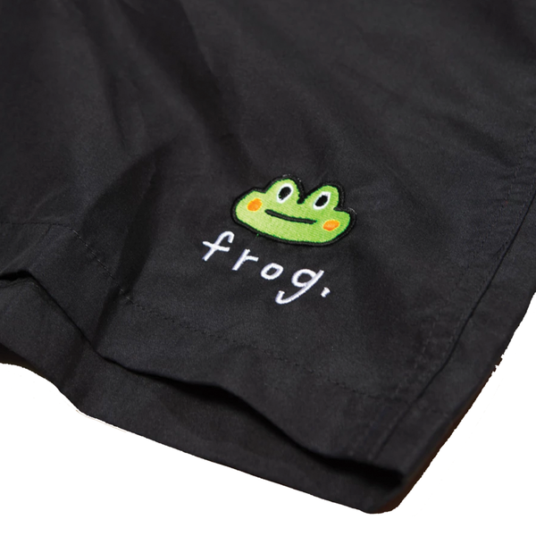 Frog Skateboards Swim Trunks - Black