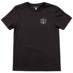 Gold Life Hex Tee - Black