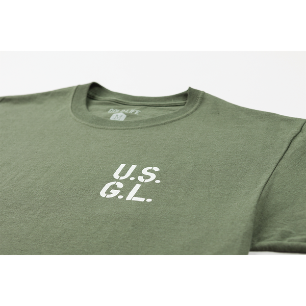 Gold Life Standard Issue Tee - Army