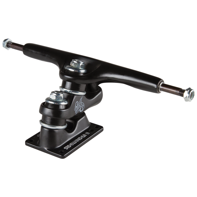 "Gullwing Sidewinder II Trucks 10"" - Black"