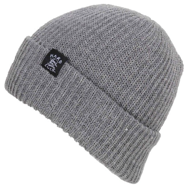 Hard Luck OG Logo Beanie - Grey