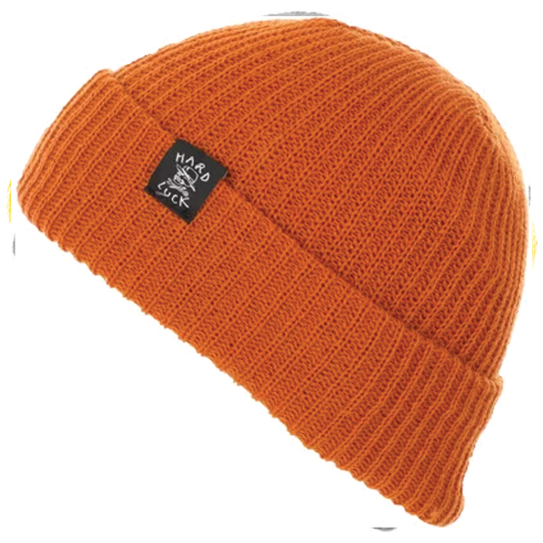 Hard Luck OG Logo Beanie - Orange