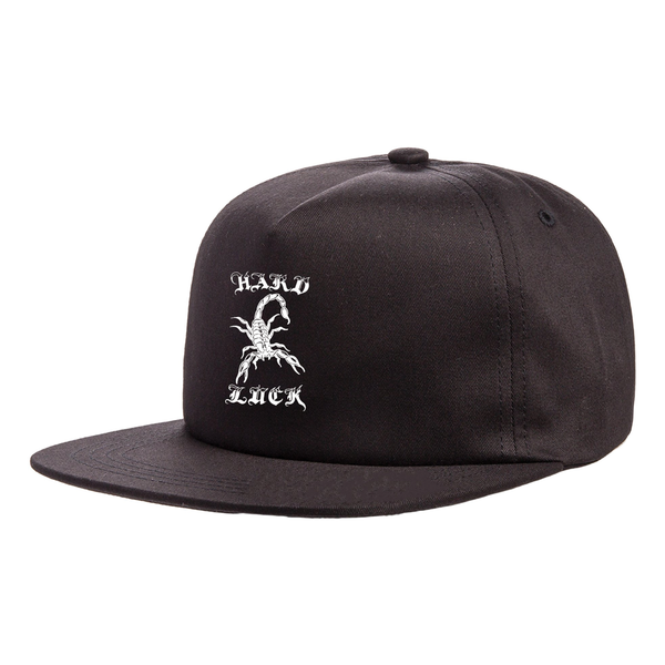 Hard Luck Alacran Hat - Black