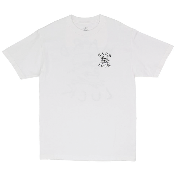 Hard Luck OG Logo T - White
