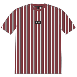 HUF Dexter Stripe Knit T-Shirt - Red