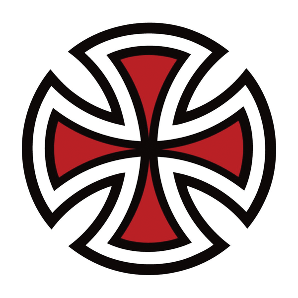 Independent Cross Sticker