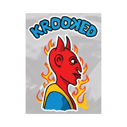 Krooked Diablo MD Sticker
