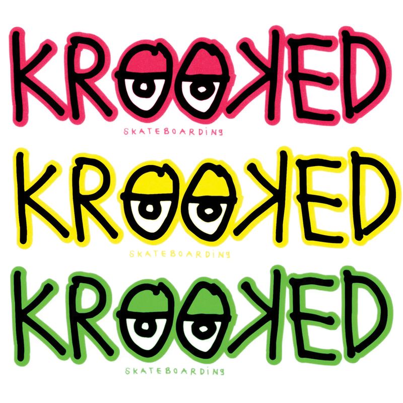 Krooked Logo Sticker