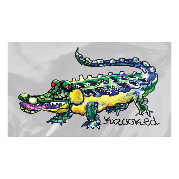 Krooked Gator MD Sticker
