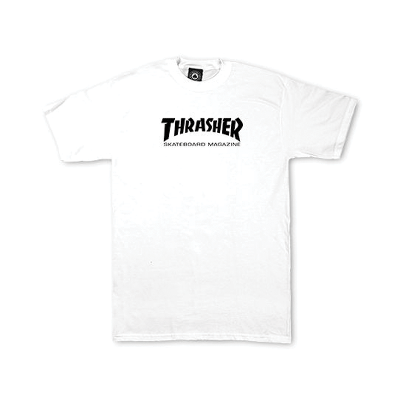 Thrasher Toddler Tee - White