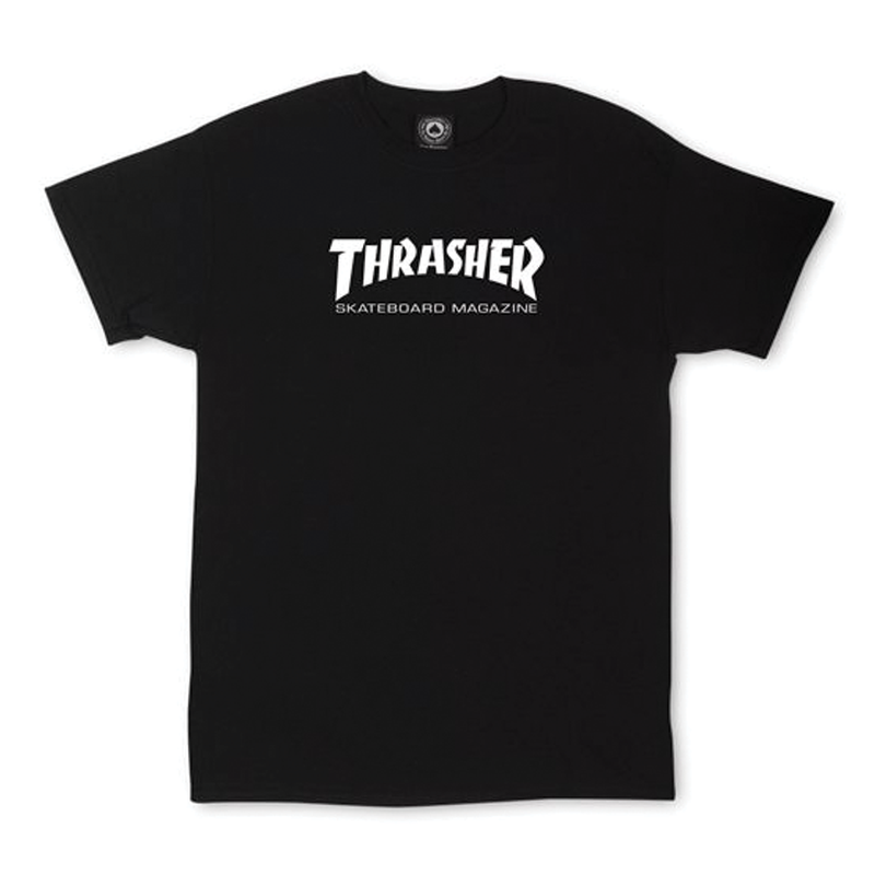 Thrasher Mag Logo Youth Tee - Black