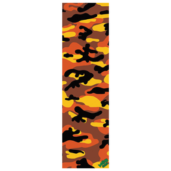 Mob Camo Grip Sheet - Orange