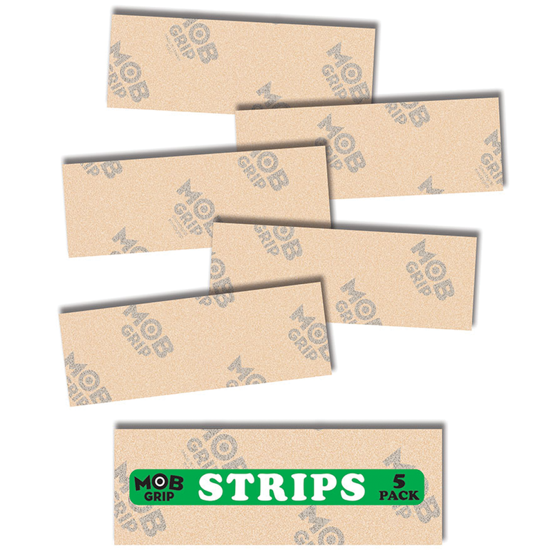Mob Clear Grip Strips - 5 Pack