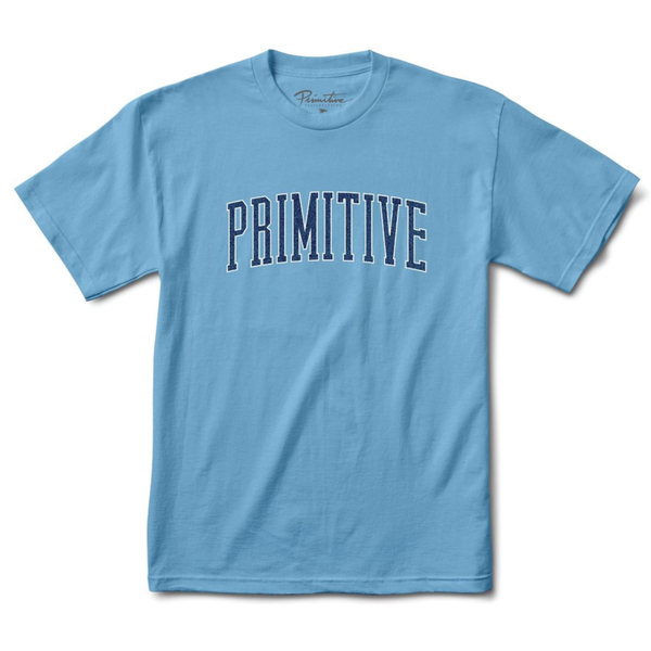 Primitive Collegiate Arch Outline Tee - Blue