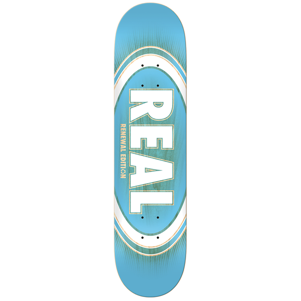 Real Oval Burst Price Point Deck - 8.5""