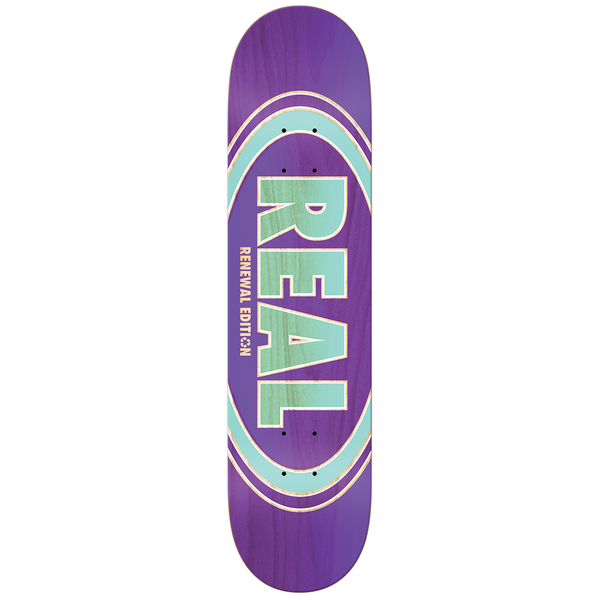 Real Oval Duo Price Point Deck - 7.56""