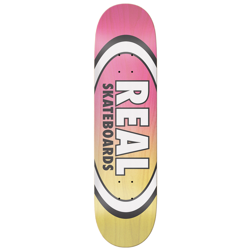 Real Shine On Oval Deck - 8.12""