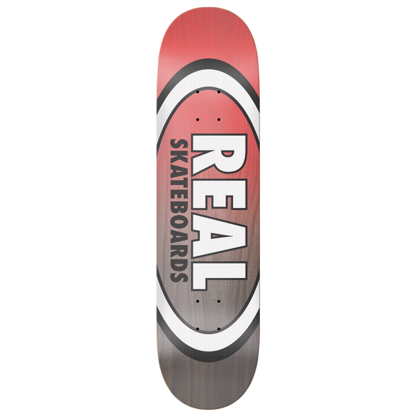 Real Shine On Oval Deck - 8.25""