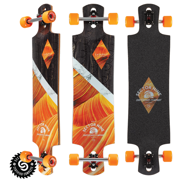 Sector 9 Canyon Catapult Complete - Orange