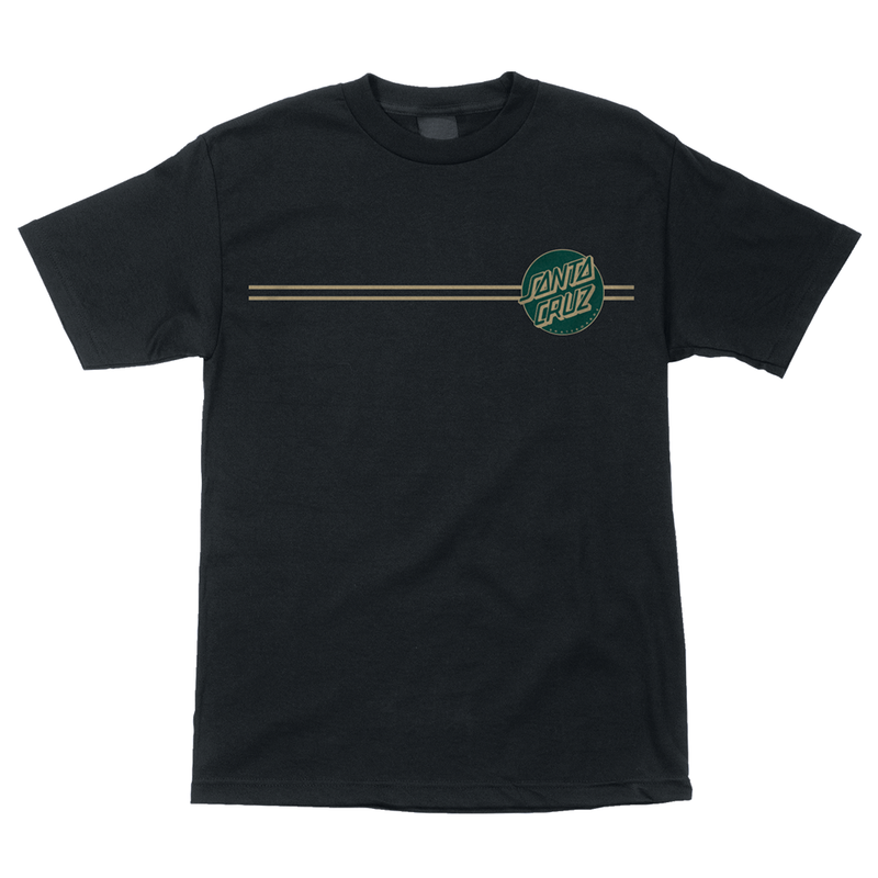 Santa Cruz Other Dot Tee - Black/Forest