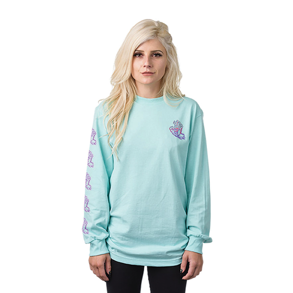 Santa Cruz Throwdown L/S - Blue