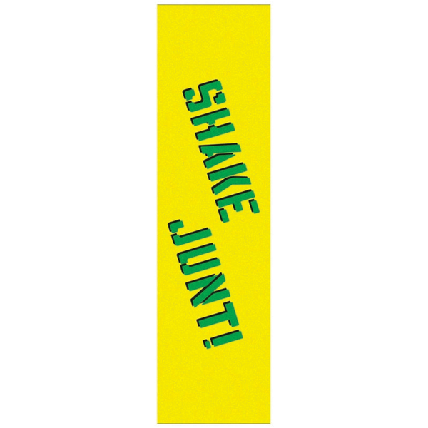 Shake Junt Classic Grip Sheet - Yellow