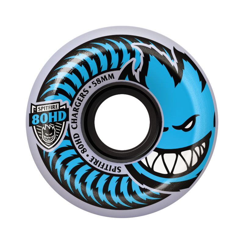 Spitfire 80HD Chargers Conical Blue - 54mm