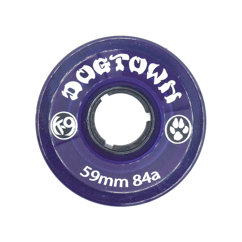 Dogtown K-9 Cruiser Wheels 84a Clear Purple - 59mm